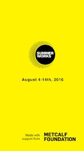 SummerWorks 2016- screenshot thumbnail