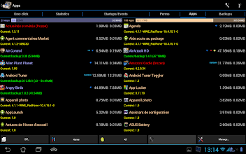 Photo: 2-columns in apps/backups manager (only on tablet, landscape mode)