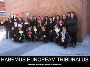Photo: Habemus Europeam Tribunalus. 15/03/2013