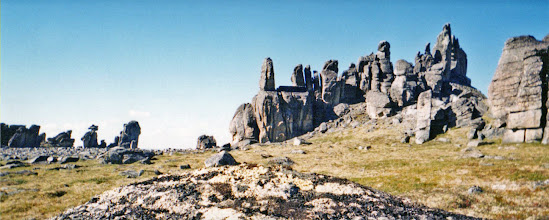 Photo: Bering Land Bridge: Granite Tors