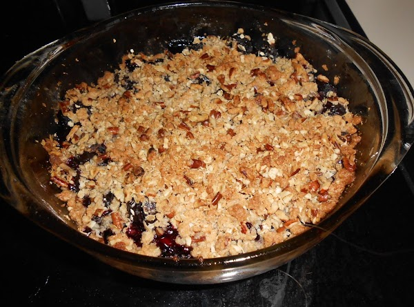 Ellen's One-hour Cherry Crisp Recipe