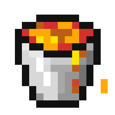 How to give yourself a lava bucket in minecraft