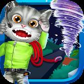 Baby Kitty Fireman: Hero Game