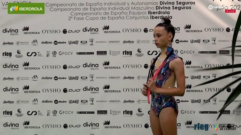 Ainhoa Soler, en una imagen de archivo.