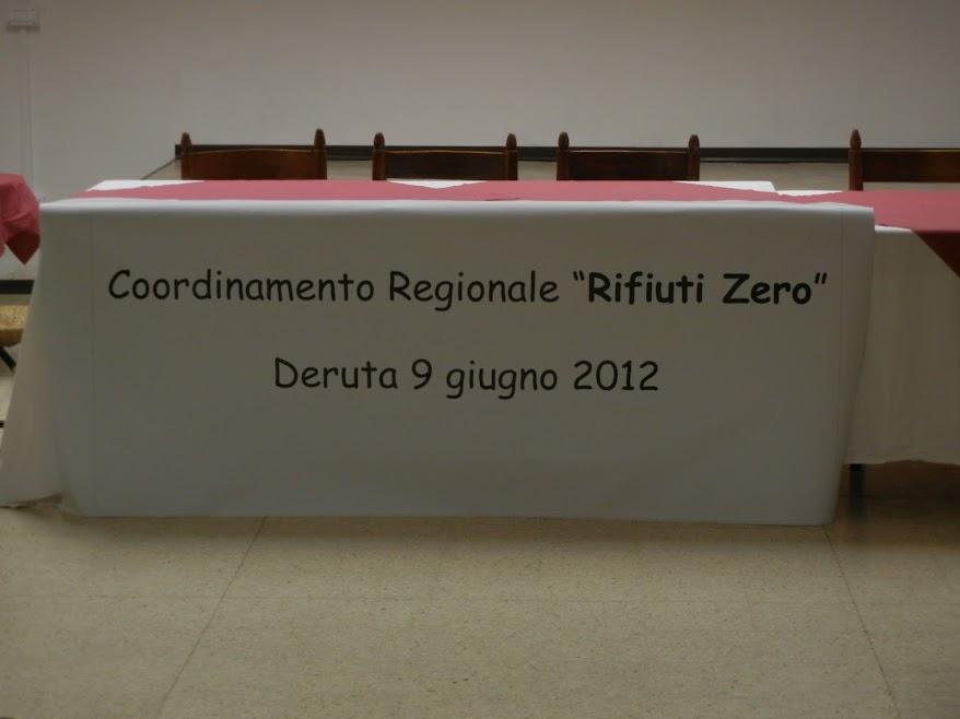 CRURZ: La Nascita del Coordinamento Regionale Umbro Rifiuti Zero - 9 giugno 2012