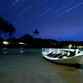 Wonderful Night by Arief Wardhana - Transportation Boats