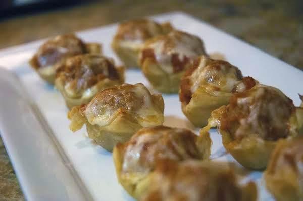 Amazing Appetizer: Mini Meatball Cups Recipe