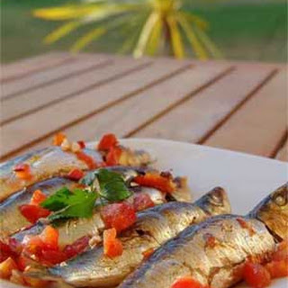Easy Portuguese Baked Sardines