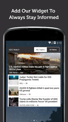 ISIS Watch - Newsfusion 3.949 screenshots 5