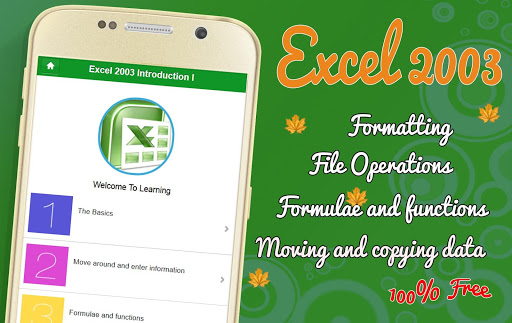 Learn MS Excel 2003