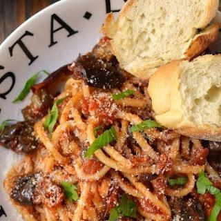 Italy - Pasta Alla Norma (Pasta in Spicy Eggplant & Tomato Sauce)