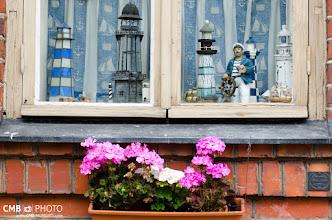 Photo: Los habitantes de Suomenlinna decoran con mimo todas sus ventanas