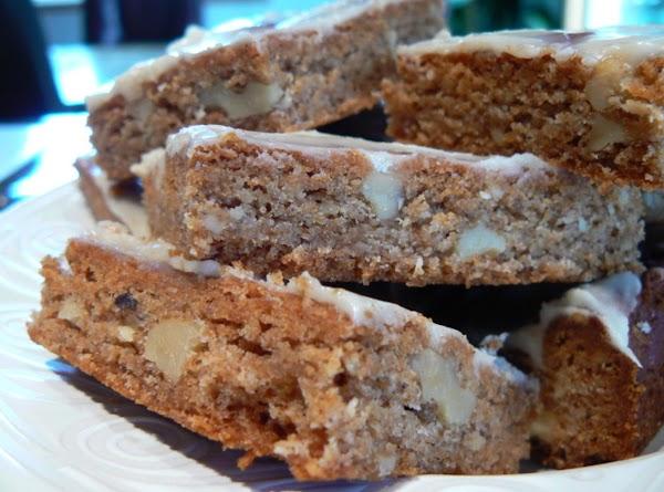 Glazed Honey Bars Recipe