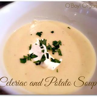 Celeriac and Potato Soup
