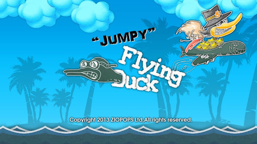 Jumpy Flying Duck