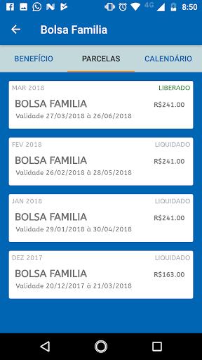 Consulta Bolsa Família - Saldo Extrato Calendário for PC