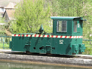Photo: Day 26 - One of the Trains that used to Work this Canal