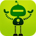 Change your voice Robot sounds icon