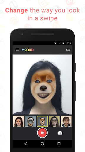 MSQRD screenshot 1
