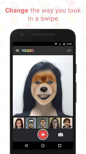 MSQRD Android App Screenshot