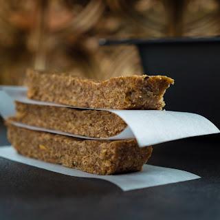 No Bake Almond Butter Pecan Energy Bars.