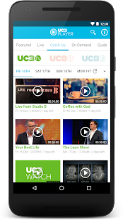 UCB Player- screenshot thumbnail