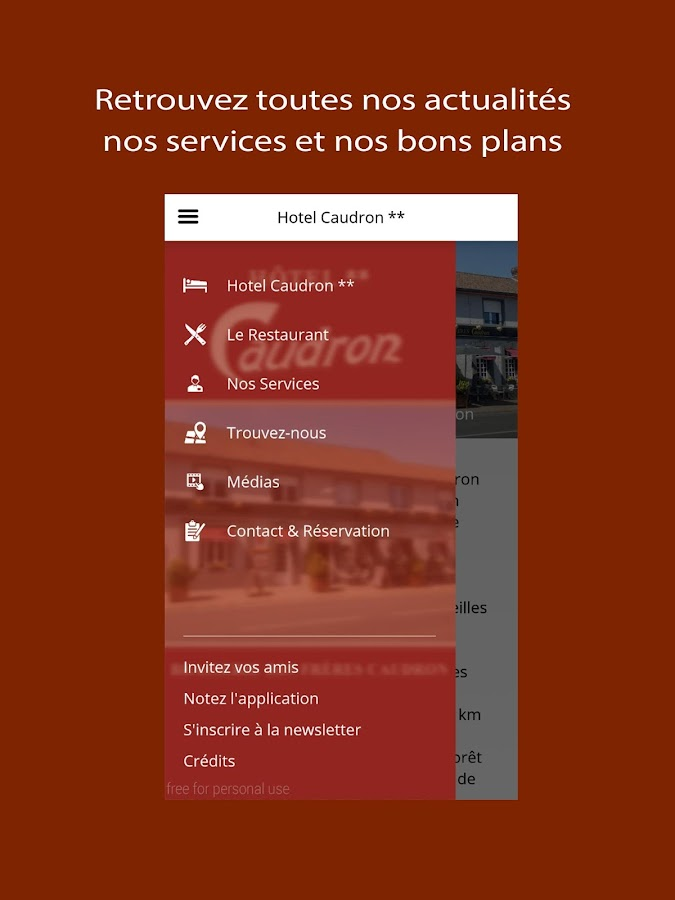Hotel Caudron- screenshot