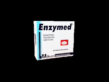 **Enzymed   Tab.Fco.x20Tab. BIO Bromoprida Pancreatina Dimetilpolisiloxano