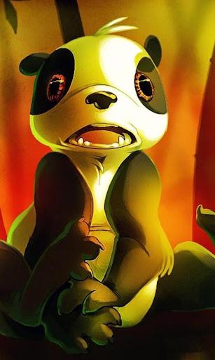 パンダアニメパズルゲーム