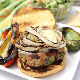 Chicken Burgers with A Mexican Twist.