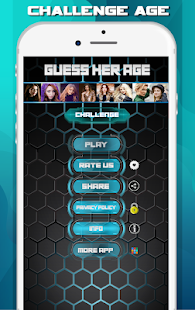Guess her age - Game Age Test Challenge Screenshot