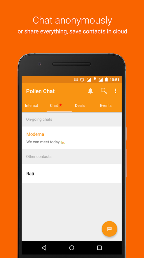 Pollen Chat- screenshot