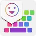 iKeyboard -GIF keyboard,Funny Emoji, FREE Stickers icon
