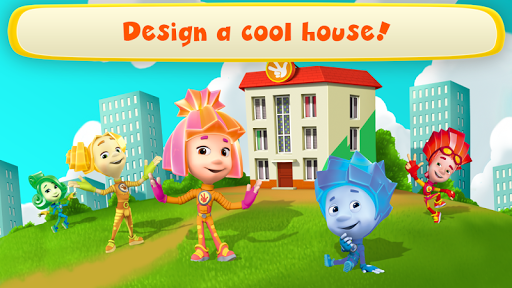 Fiksiki Dream House Games & Home Design for Kids  {cheat|hack|gameplay|apk mod|resources generator} 2