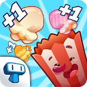 Popcorn Clicker - Popcorn Cart Clicker Game!