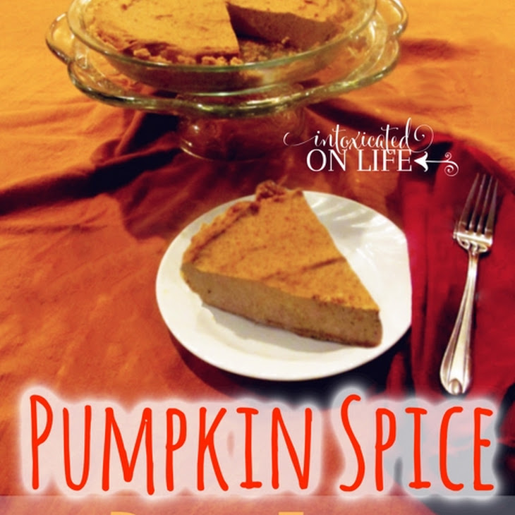 Pumpkin Spice Dairy Free Cheesecake {Gluten Free, Grain Free, Sugar Free and Egg Free} Recipe