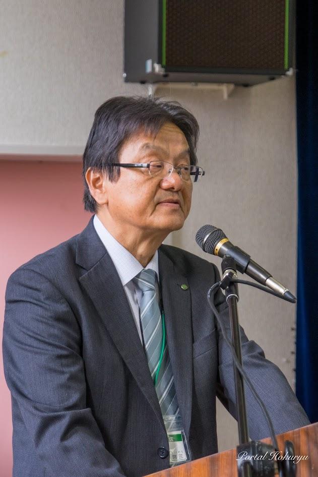 空知土地改良区・波田野啓三 事務局長