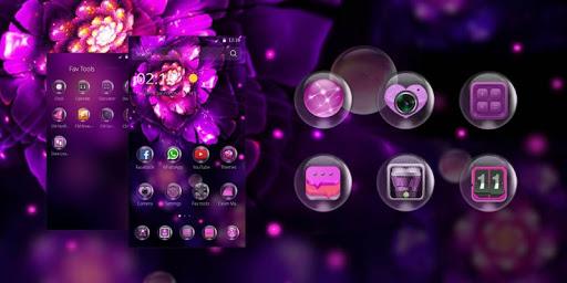 Dew - Purple Flower