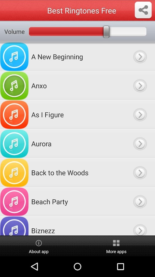 Best Ringtones Free- screenshot