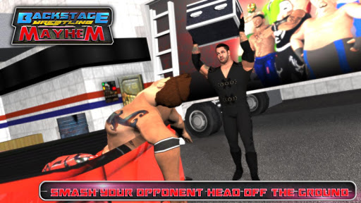 BACKSTAGE WRESTLING GAMES : REVOLUTION MANIA
