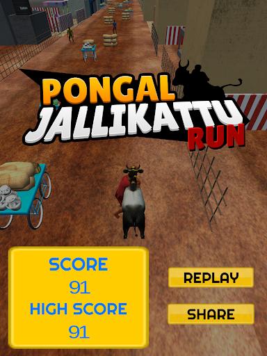 Pongal Jallikattu Run
