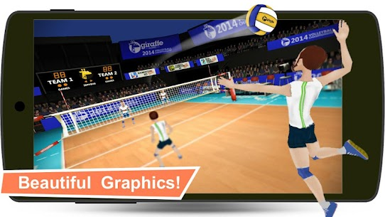 Volleyball Champions 3D – Online Sports Game App Download For Android and iPhone 6