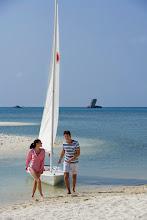 Photo: Nikoi Island sailing - laser