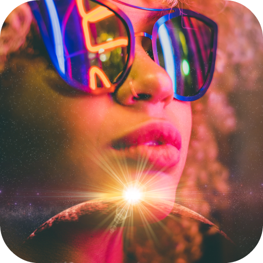 Eclipse Photo Blender App Icon