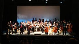 Primer concierto de la Orquesta compuesta por músicos de El Ejido.