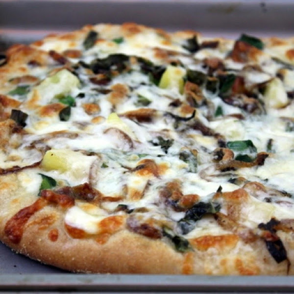The S.o. B.(sausage, Onion And Bacon Pizza Recipe