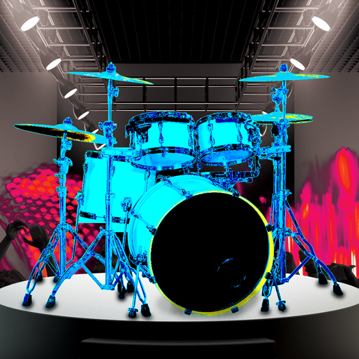 Drum Hero (Rock Music Game, Tiles Style)