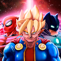 Superheroes League - Free fighting games icon