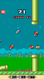 Flappy Crush screenshot 02