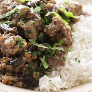 Lamb And Eggplant Khoresh